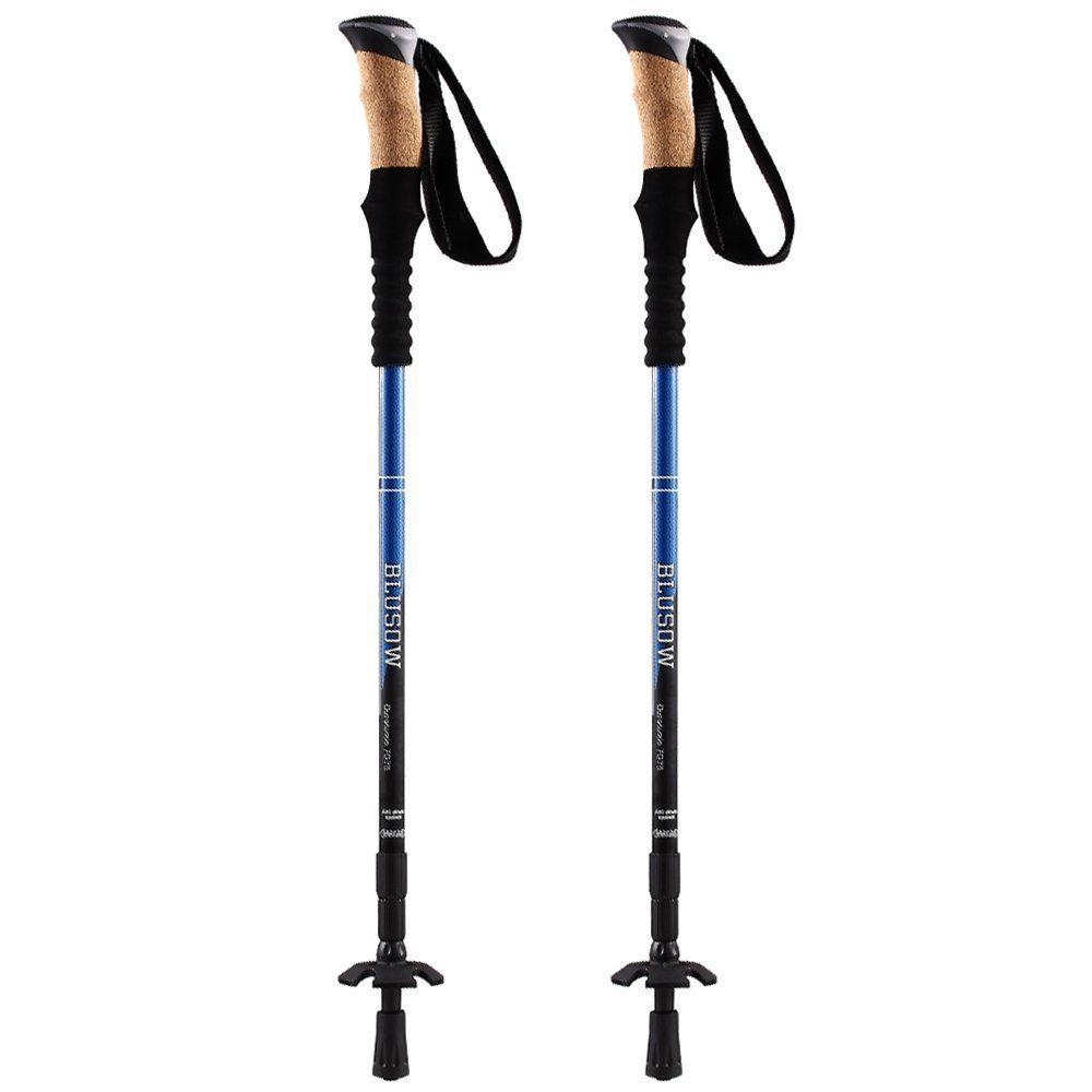 Trekking Poles Anti Shock Hiking Walking Sticks You Can Find
