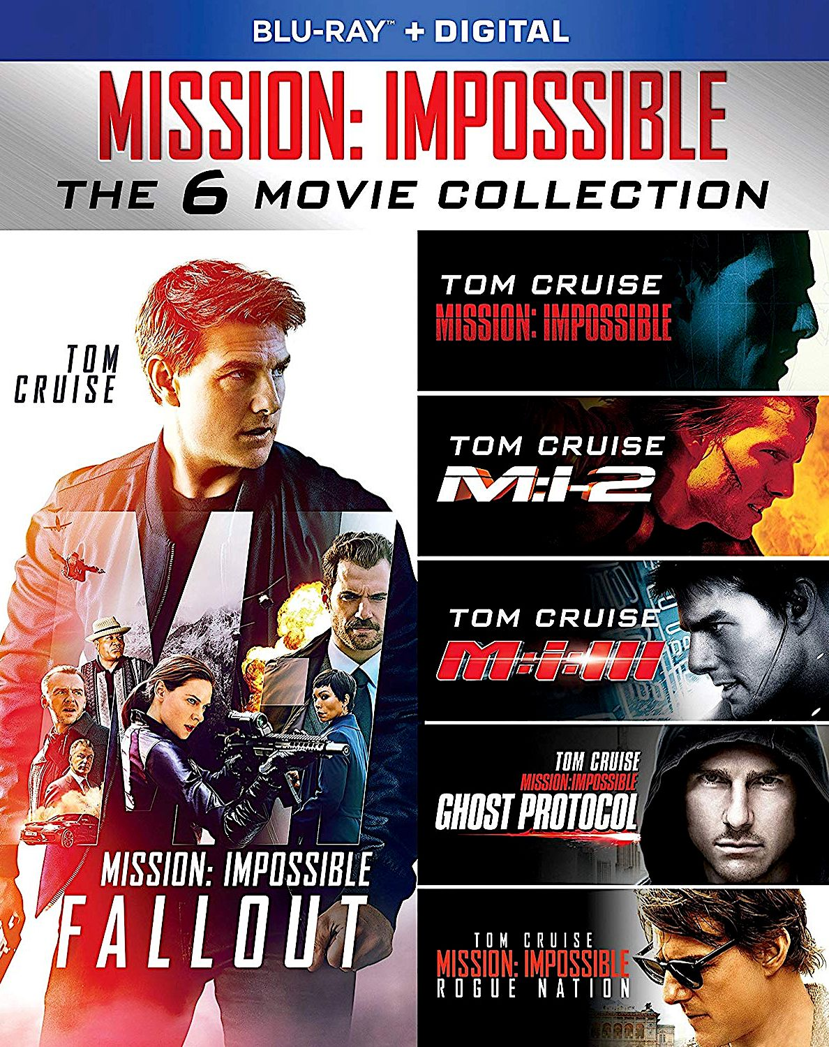 MISSION: IMPOSSIBLE 6-MOVIE COLLECTION BLU-RAY SET