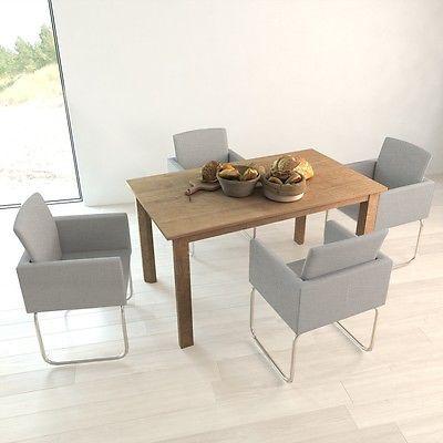 4x Esszimmerstuhl Stuhl Stuhle Polsterstuhl Stuhlgruppe