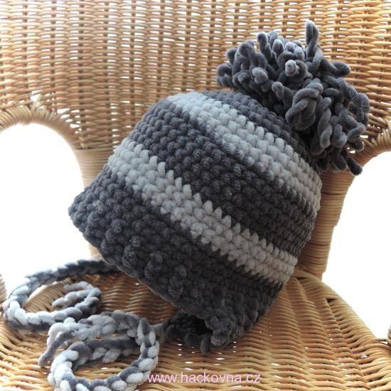 5e79a74b5 Návody zdarma na čepice, ušanky, klobouky, kloboučky, háčkování, pletení