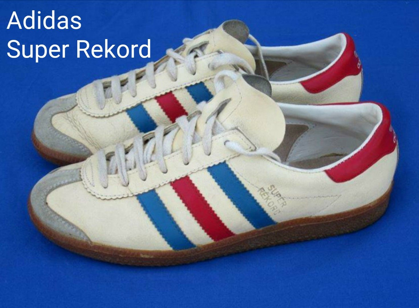 Vintage Adidas Super Rekord, made in Yugoslavia. Nice these