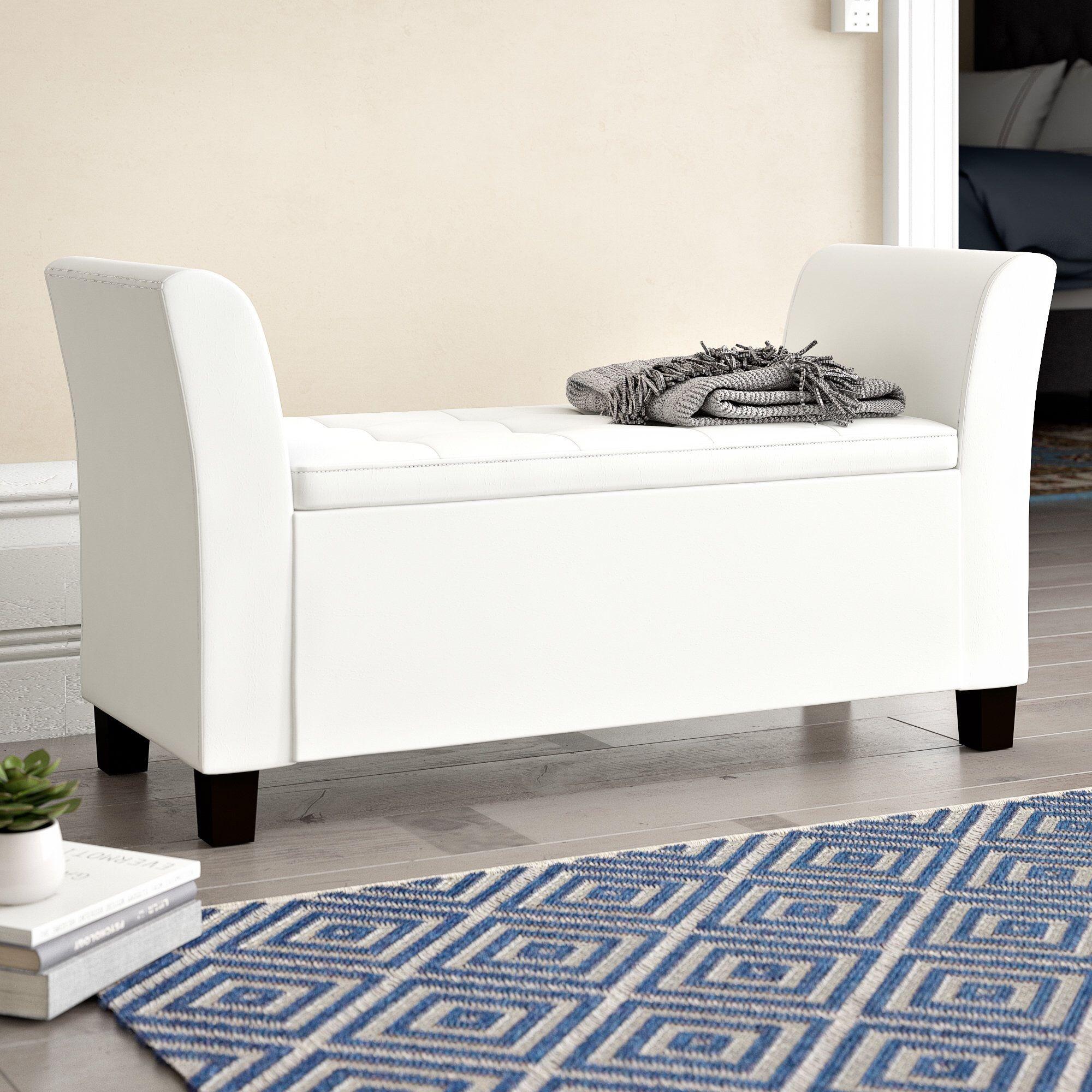 Clarissa Upholstered Storage Bench