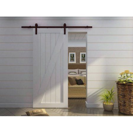 Tms 66ft Antique Country Style Interior Sliding Barn Door Track