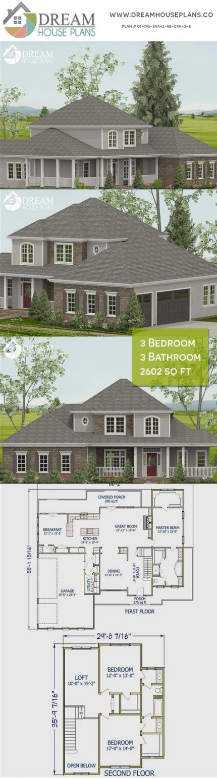 House Plans Southern Open Porches 57 Ideas House Southern House Plans New House Plans Craftsman House Plans