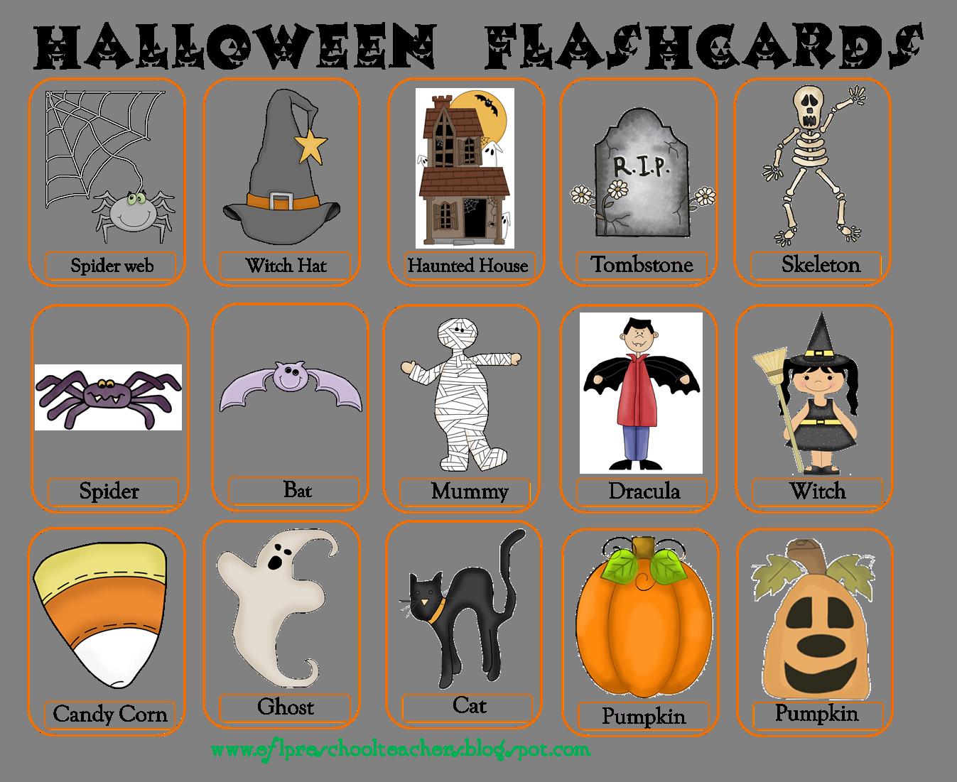 esl/efl preschool teachers: halloween 2010 | tpt products from my