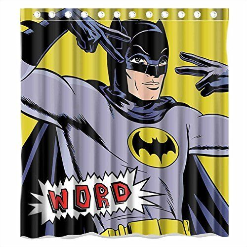 Awesome Batman Shower Curtain Designs - Best Sellers | Batman