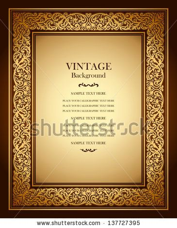 Pin By Svetlana On Vintage Burgundy Background, Antique Gold Frame   Award  Paper Template  Award Paper Template