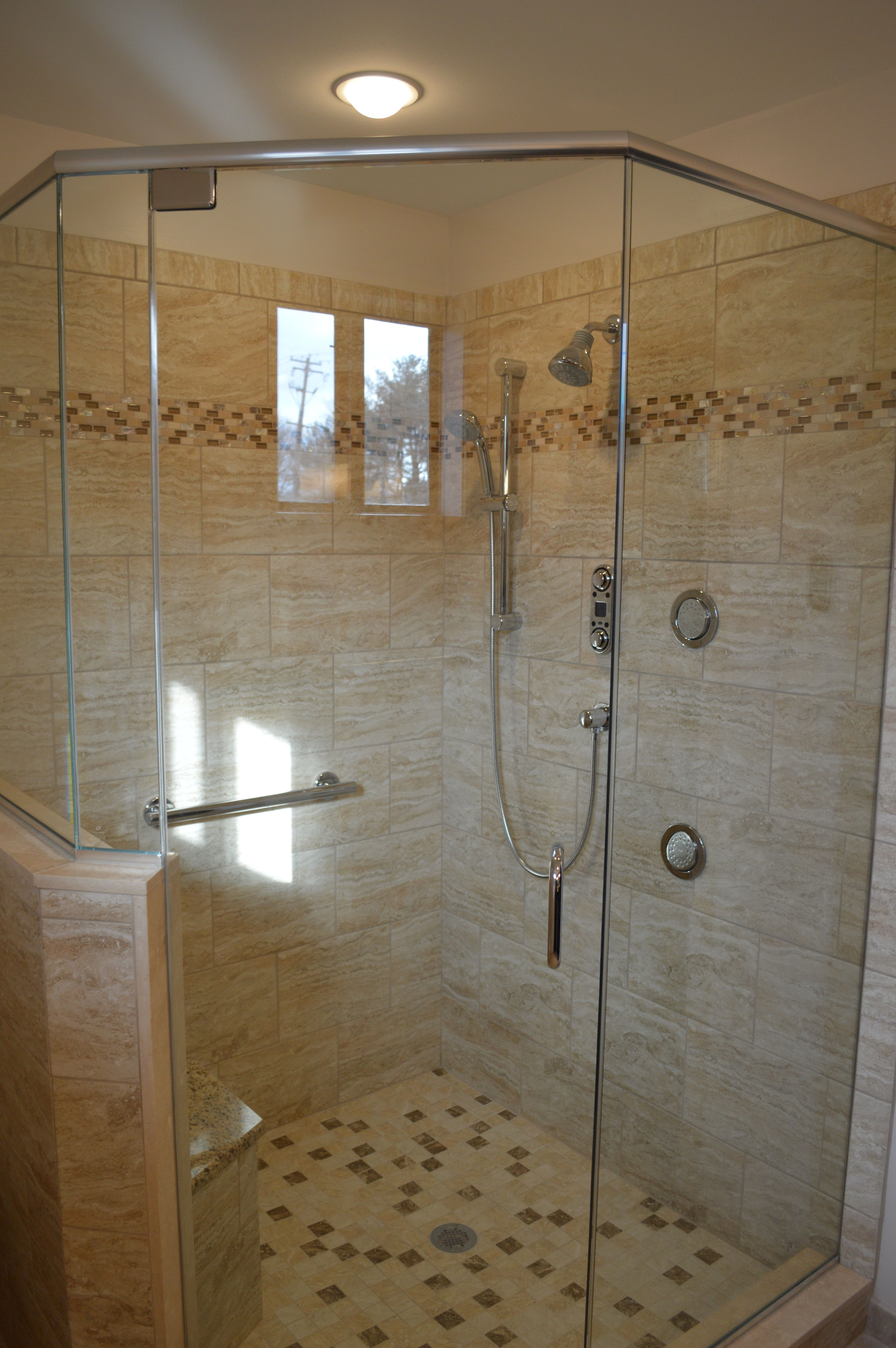 This Is A Beautiful Master Bath Renovation We Did In Richboro Pa