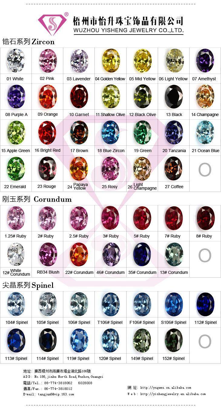 Wuzhou yisheng jewelry company unique glass cz gemstone color wuzhou yisheng jewelry company unique glass cz gemstone color chart photo detailed about wuzhou yisheng nvjuhfo Images