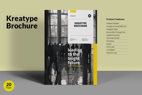 Kreatype Brochure By Kreatype Studio On Creativemarket Download