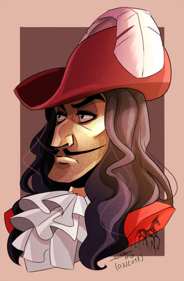 Captain Hook By Litanayasha On Deviantart Captain Hook Disney Disney Fan Art Captain Hook