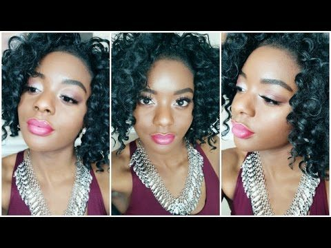 Makeup Monday: Soft & Simple Valentines Day Makeup + Ombré Lip | Tia Harris - YouTube