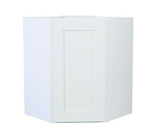 18++ Shaker corner wall cabinet type