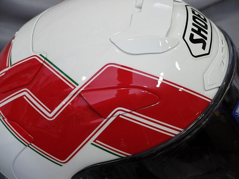 Shoei X 12 ヘルメット カスタムペイント ボランティア