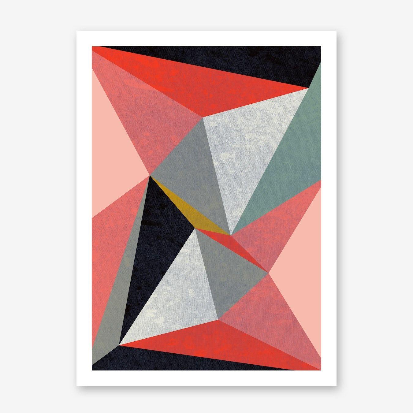 Canvas Iii Art Print In 2020 Art Prints Art Geometric Art