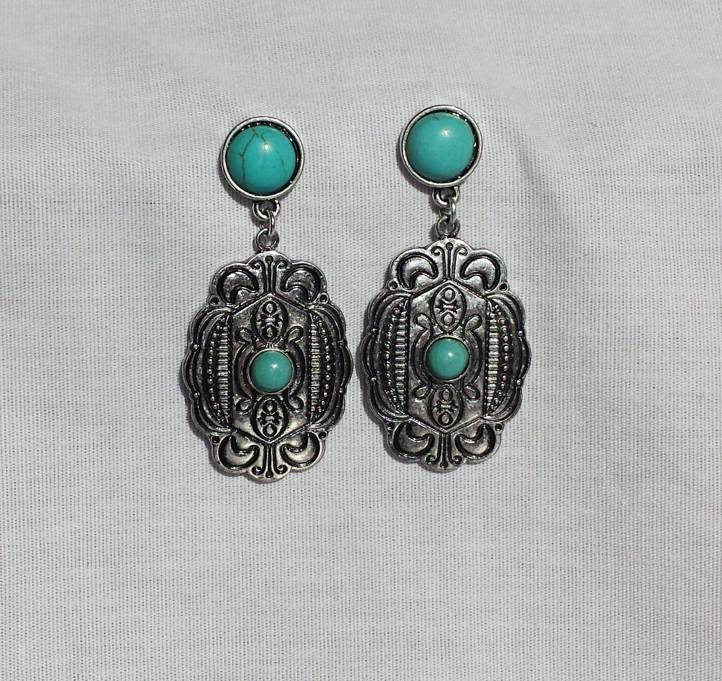 Turquoise Southern Dangle Earrings