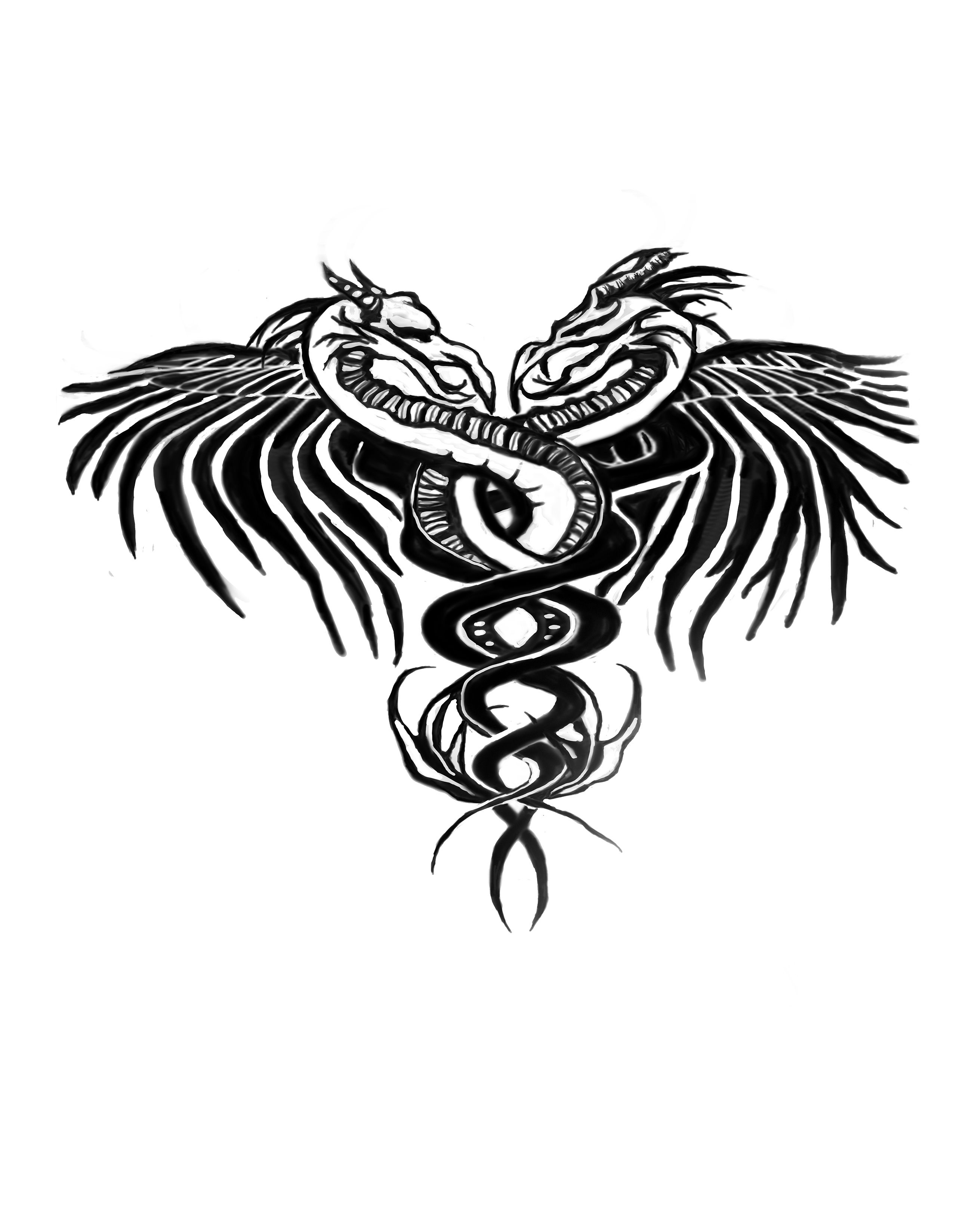Original Medical Symbol For Indigo Before Revisions Art By Amanda R