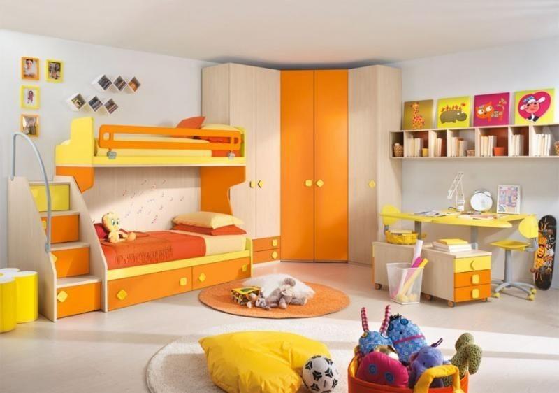 Cameretta Eresem Arancione By Colombini Centro Delle Camerette
