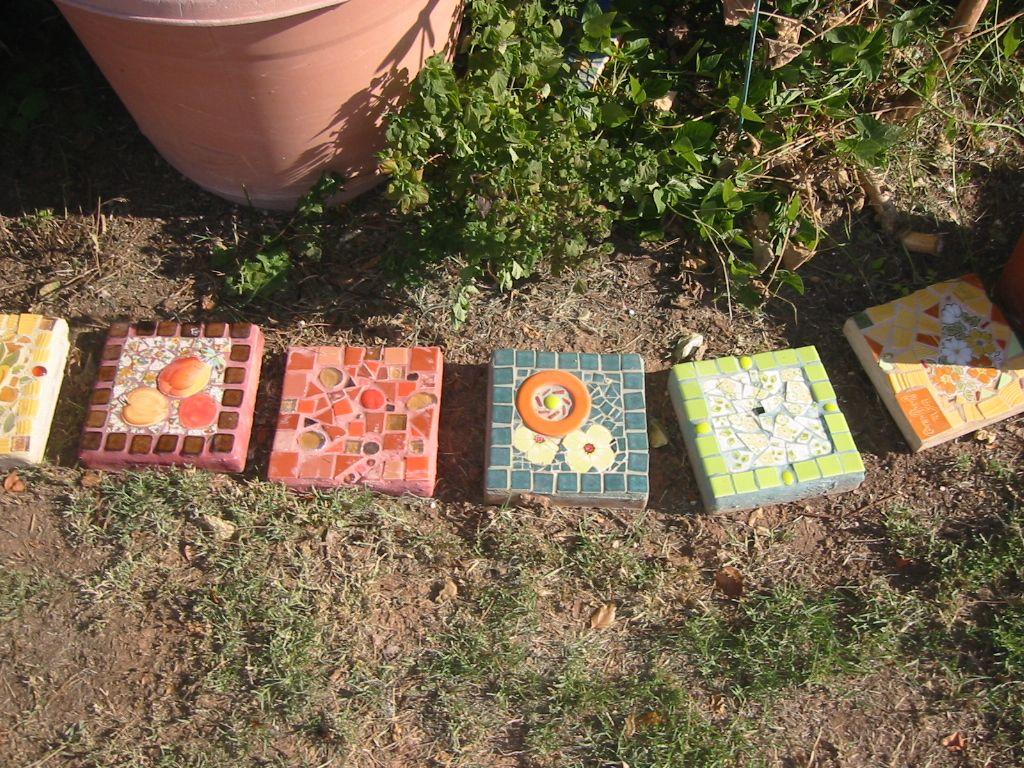 2010 Garden border stones #5