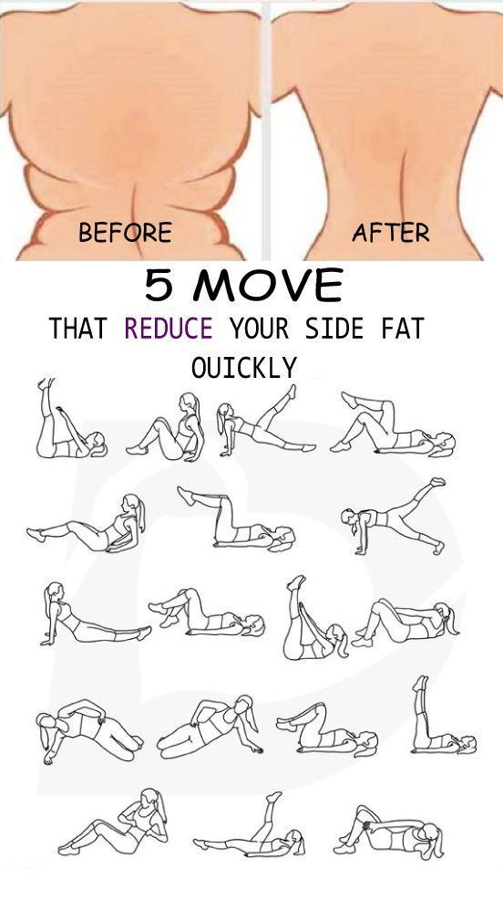 Photo of Die effektivsten Übungen zur Reduzierung des Nebenfetts, die Sie auf allen Seiten haben …
