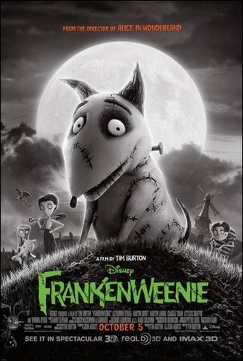 Frankenweenie Review And Hidden References To Classic Horror Films And Burton S Past Work In The Movie Tim Burton Films Tim Burton Halloween Movies
