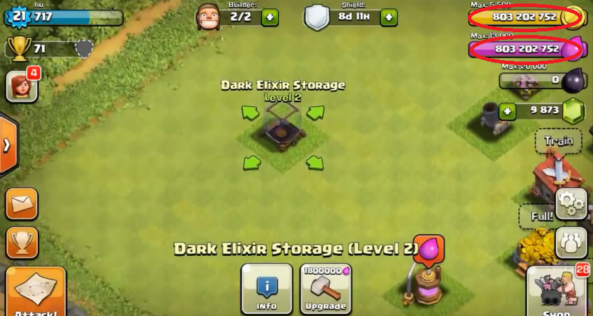 clash of clans how to get unlimited resources