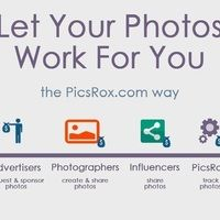 Have many followers, but no one is paying you for viewing your photos? Opportunity to monetize photos via followers and influencers on PicsRox.com