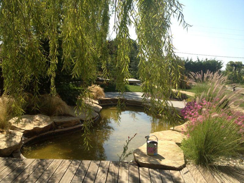 Ras el Matn, Lebanon, zen garden designed by Concepts sarl ...