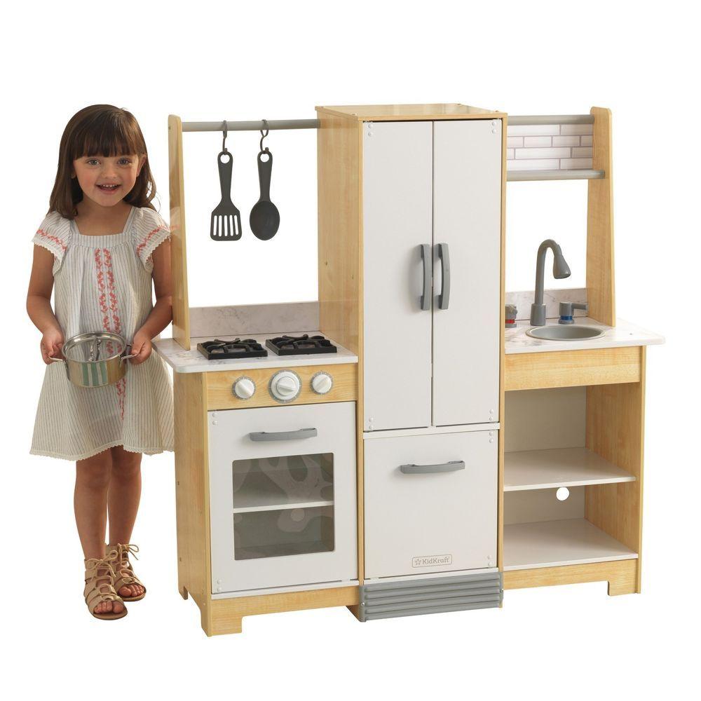 Kidkraft 53423 ModernDay Spielküche mit EZ Kraft Assembly