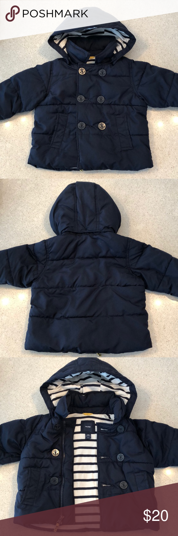 89f084405 Boys Gap Puffer Jacket Boys Gap Puffer Jacket - comes with insert (not  pictured)