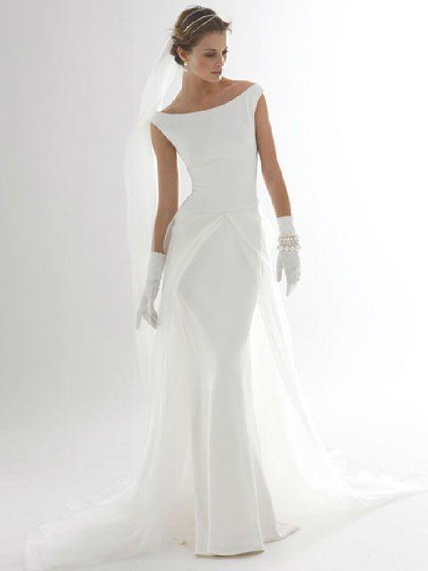 vestido de novia de cuello bote | wedding day en 2019 | pinterest