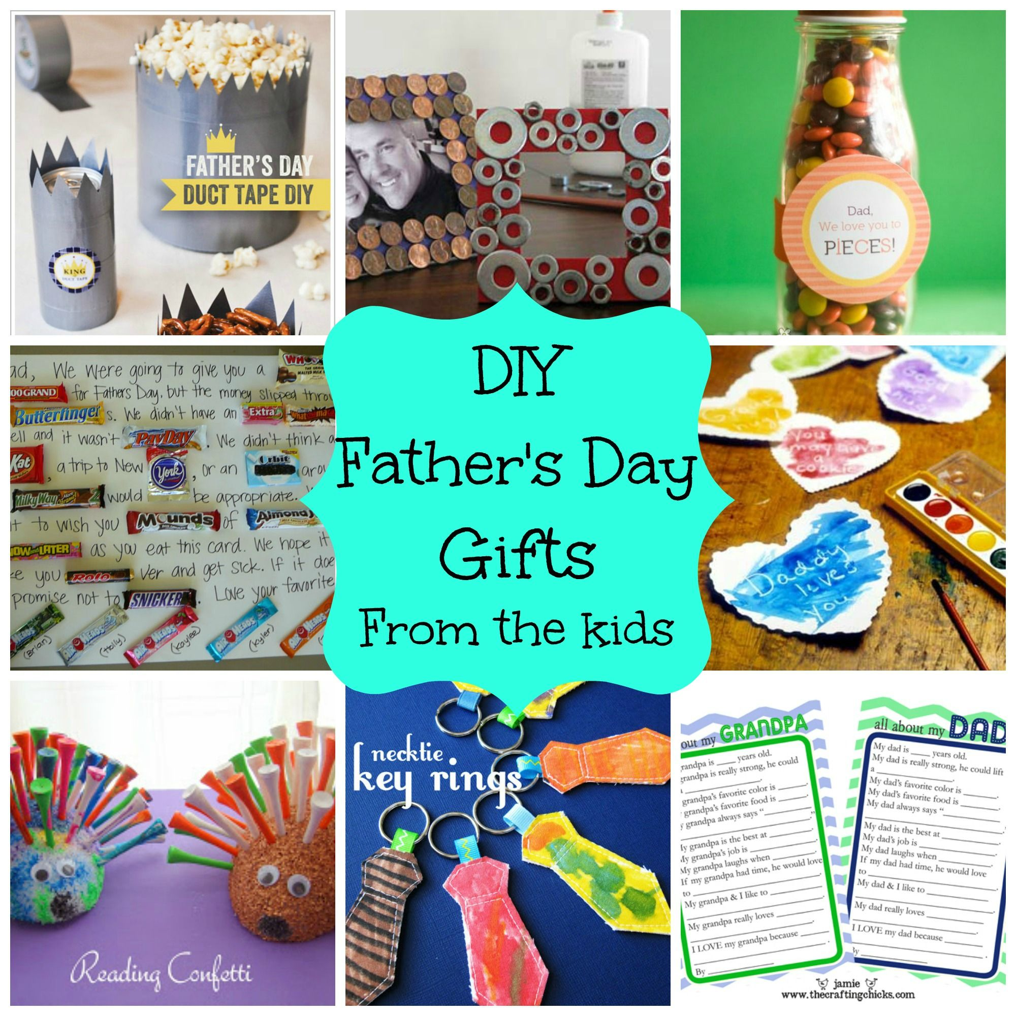 diy kids presents for dad | DIY Father's Day Gifts From Kids ...