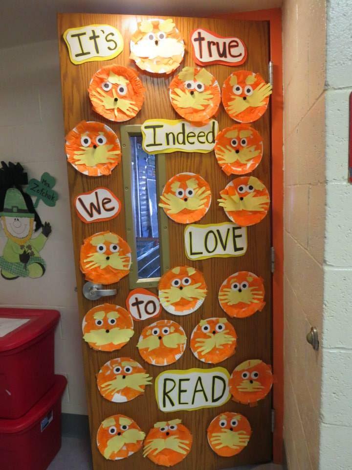 Door Decorating Ideas For Read Across America Week School Door