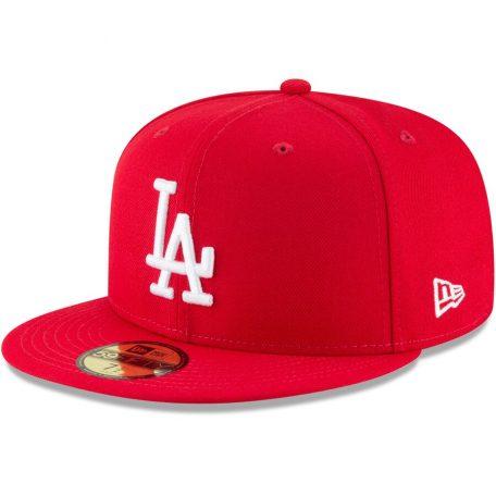 Los Angeles Dodgers New Era Fashion Color Basic 59fifty Fitted Hat Red Fitted Hats Los Angeles Dodgers New Era
