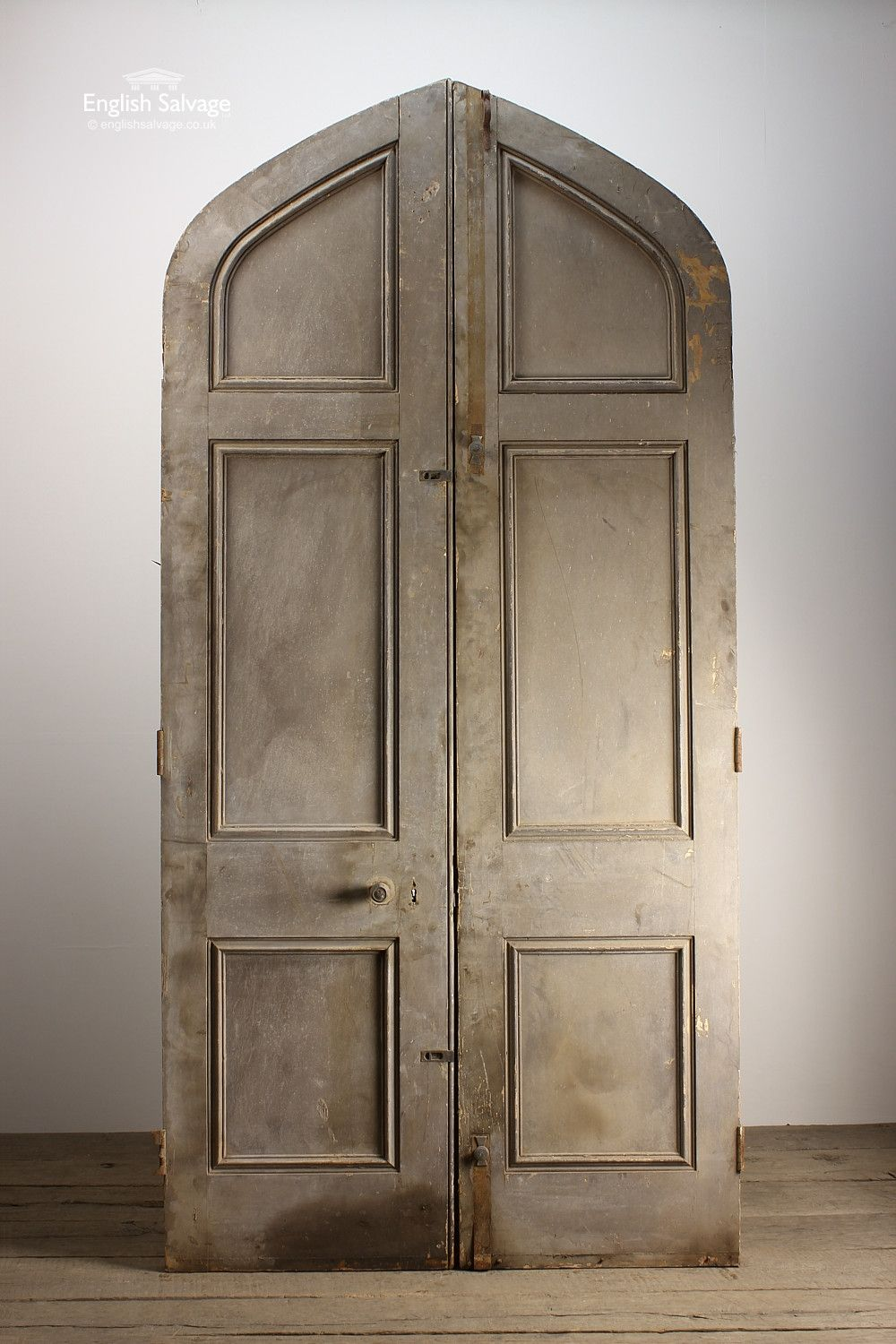 English Salvage (formerly Leominster Reclamation) are the premier architectural salvage and Reclamation Yard in the UK. Providing everything from reclaimed ... & Reclaimed Period Oak Plank Double Arch Doors | Reclaimed Doors ... pezcame.com