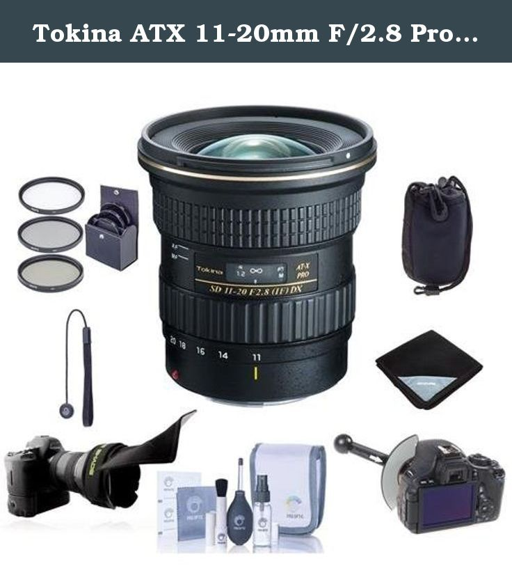Tokina Atx 11 20mm F 2 8 Pro Dx Ultrawide Zoom Lens For Canon Ef Mount Bundle With 82mm Filter Kit Flex L Lens Pouch Digital Camera Lens Best Digital Camera