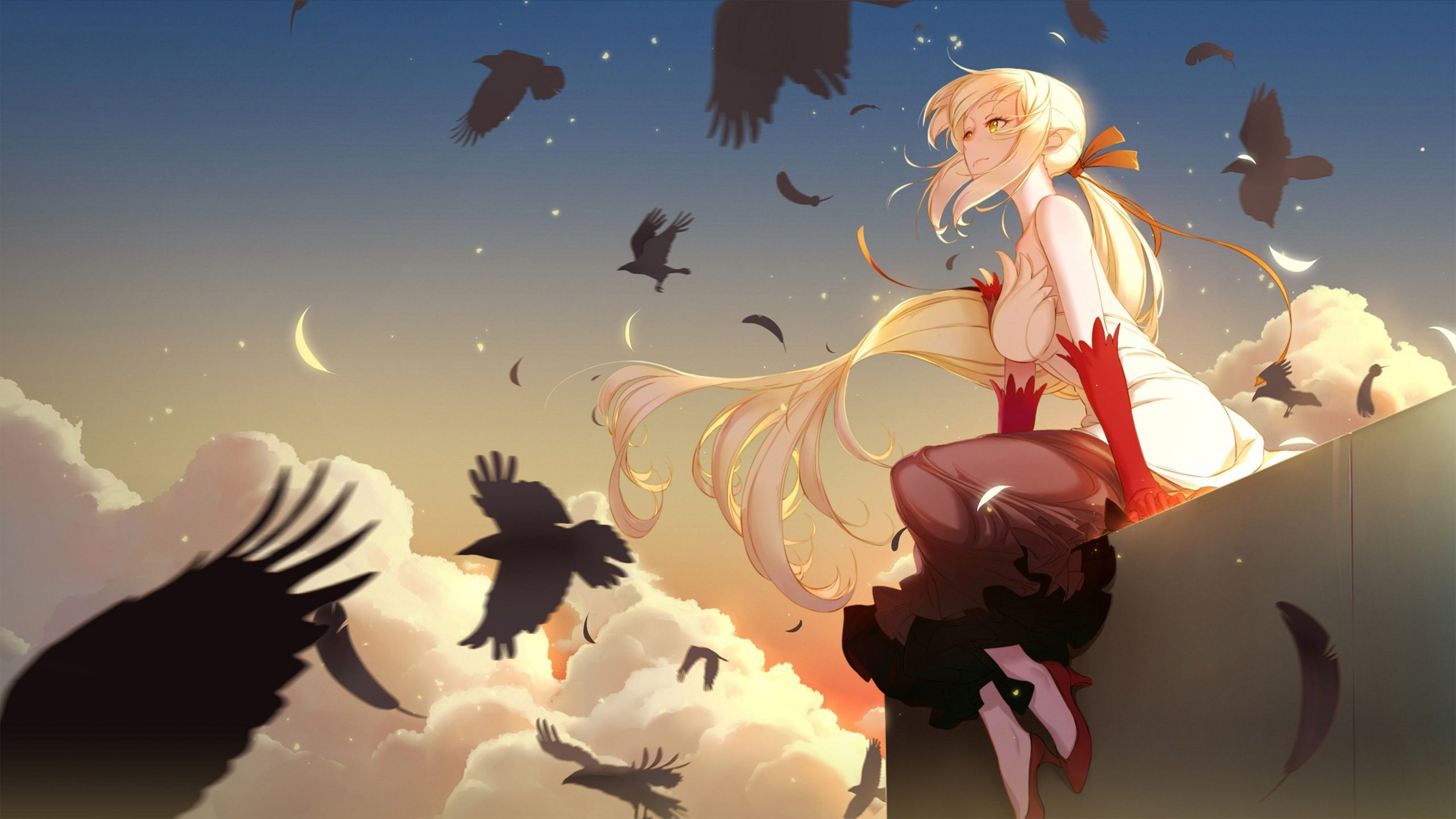 Shinobu2560x1440 Hd Wallpaper From Gallsourcecom Anime Art