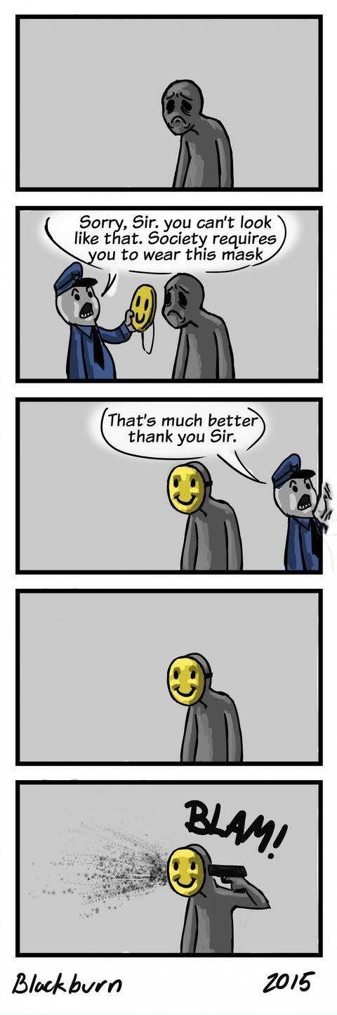 The happiness police