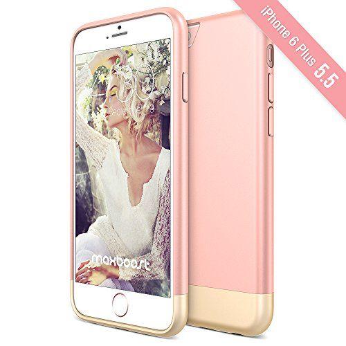 rose gold iphone 6 plus case