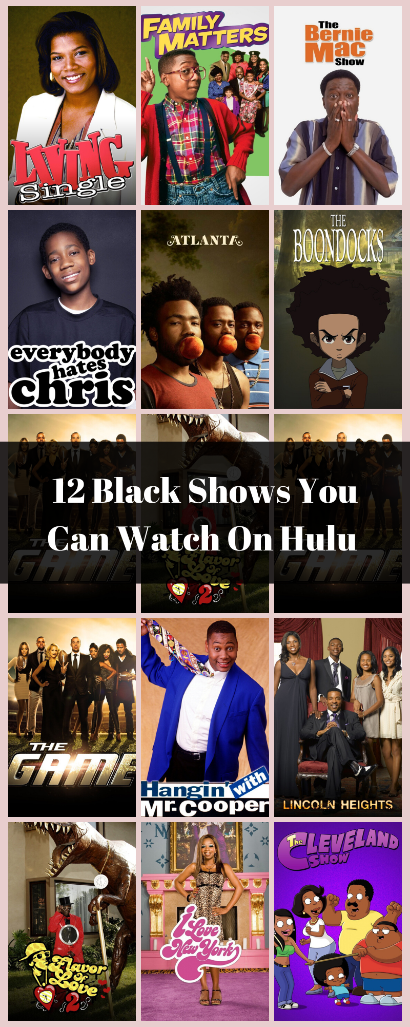 12 Black Shows On Hulu You Probably Didn T Know Were There In 2020 Family Matters Hulu Trending Music