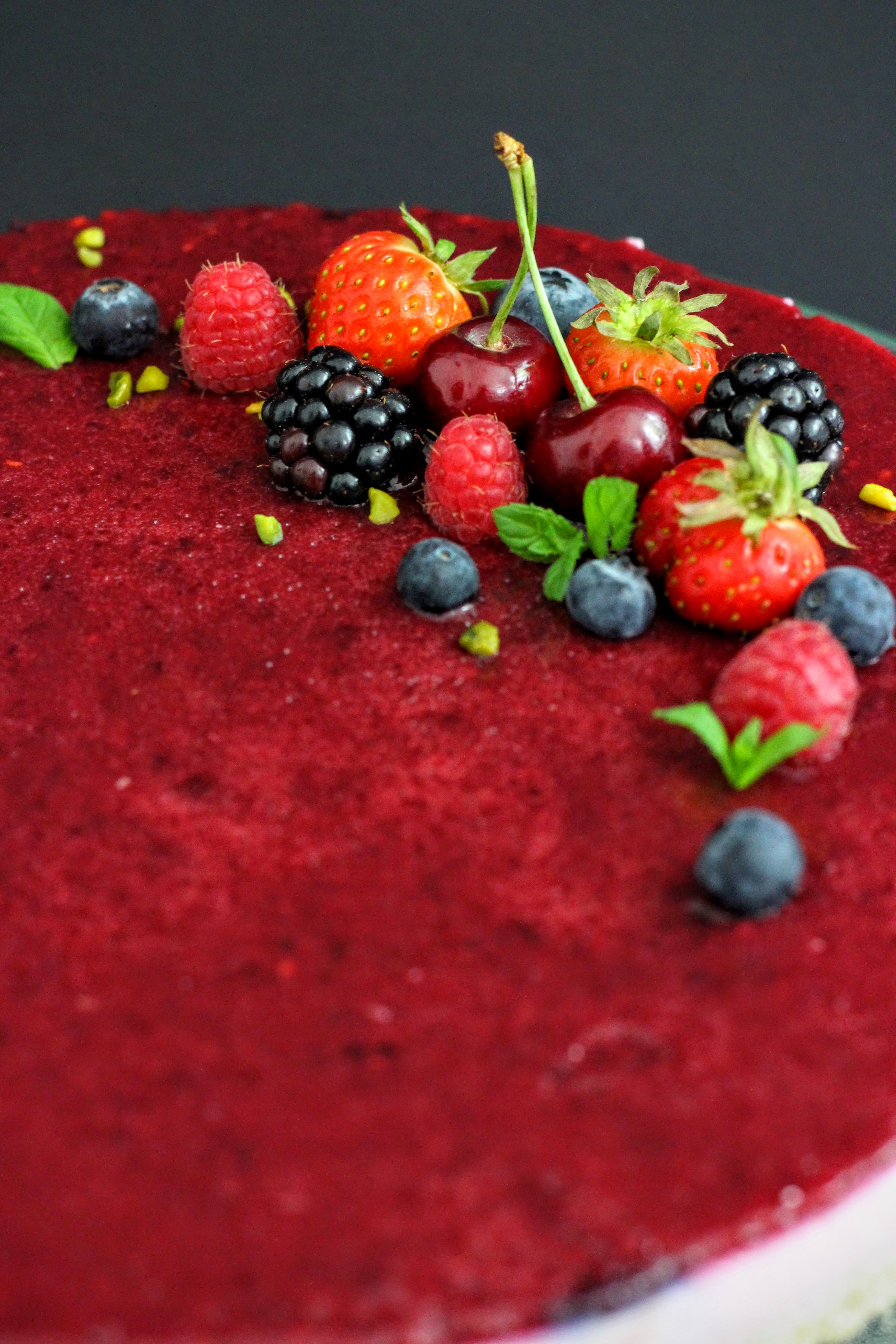 Cherry-Berry-Tarte