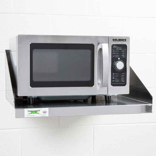 8 microwave shelf ideas microwave