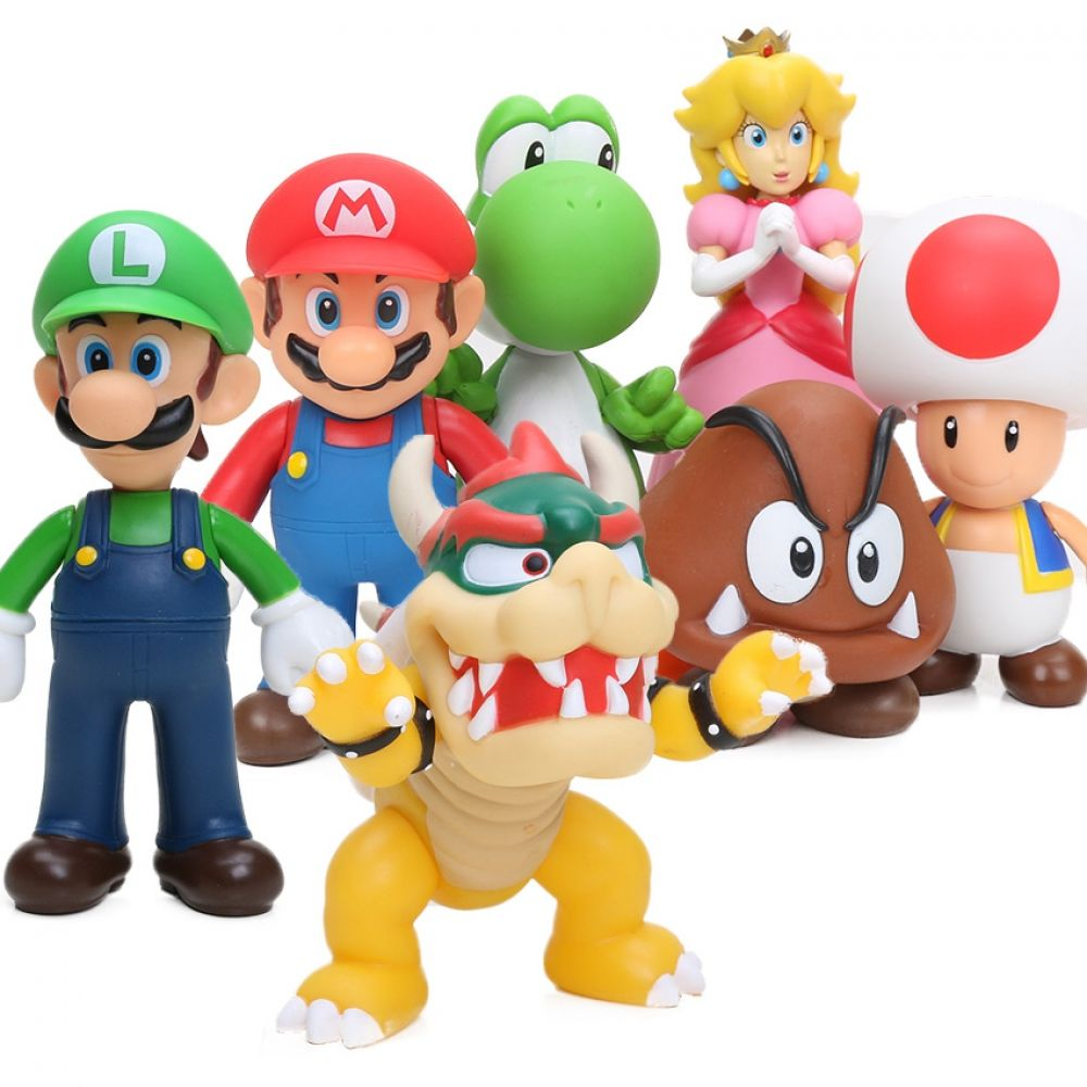 2019 Gifts Cute Super Mario Bros Luigi Mario Yoshi Bowser