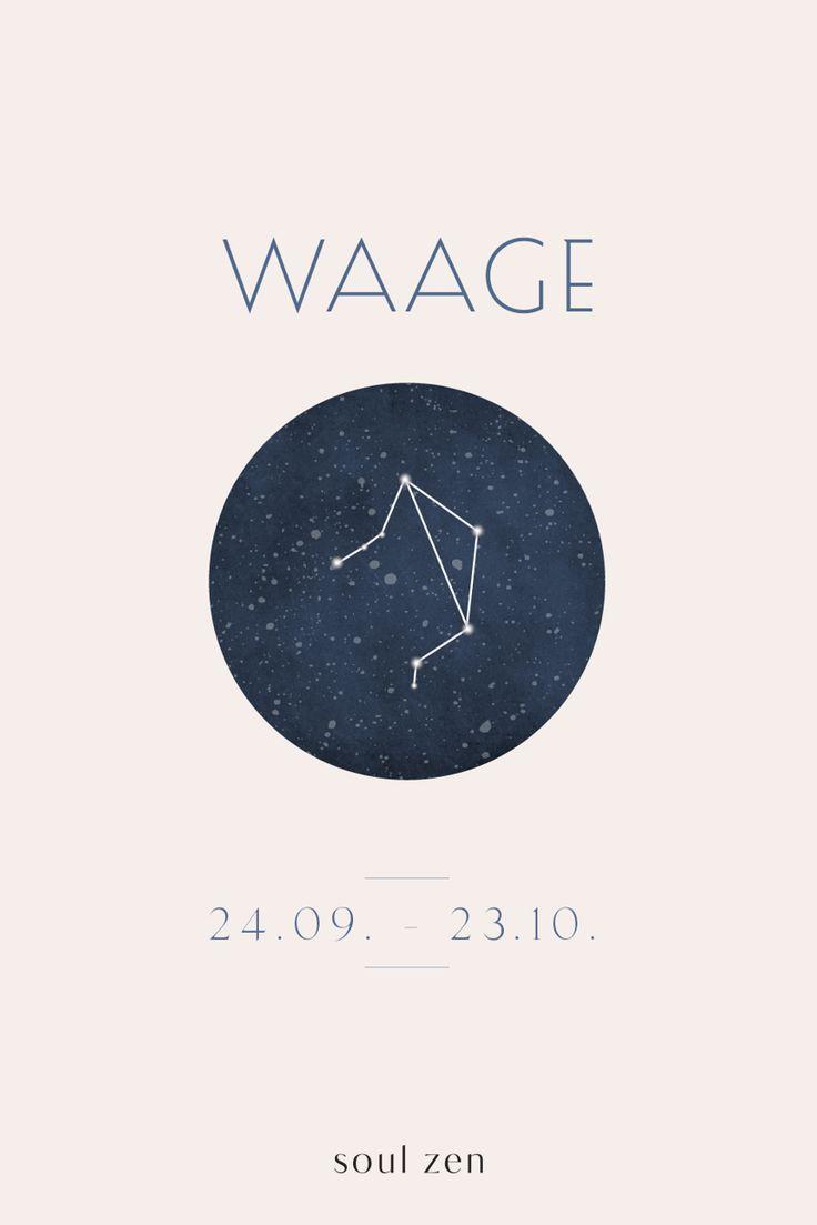 Sternzeichen JUNGFRAU Tierkreiszeichen Wandtattoo Charaktereigenschaften