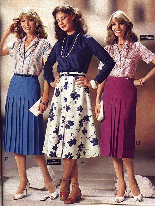 Late 70s Early 80s 70s Fashion Fashion 80s Fashion