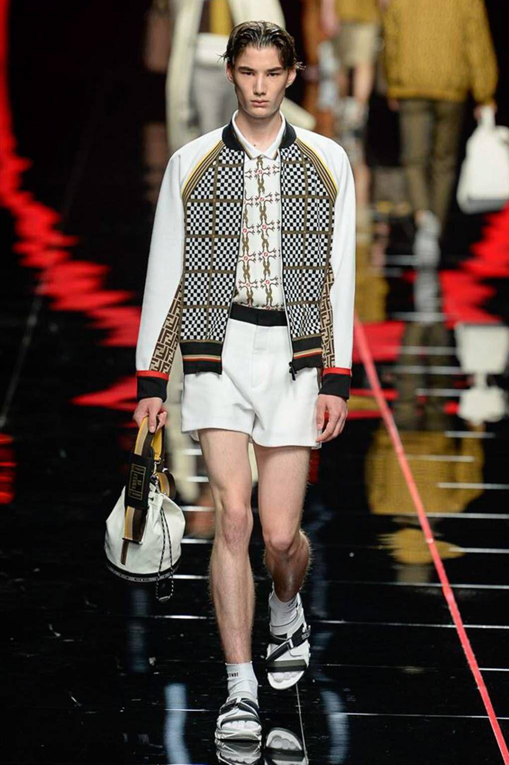 975625e62c Fendi Spring/Summer 2019 Menswear | ss19 | Fashion, Mens fashion:__ ...
