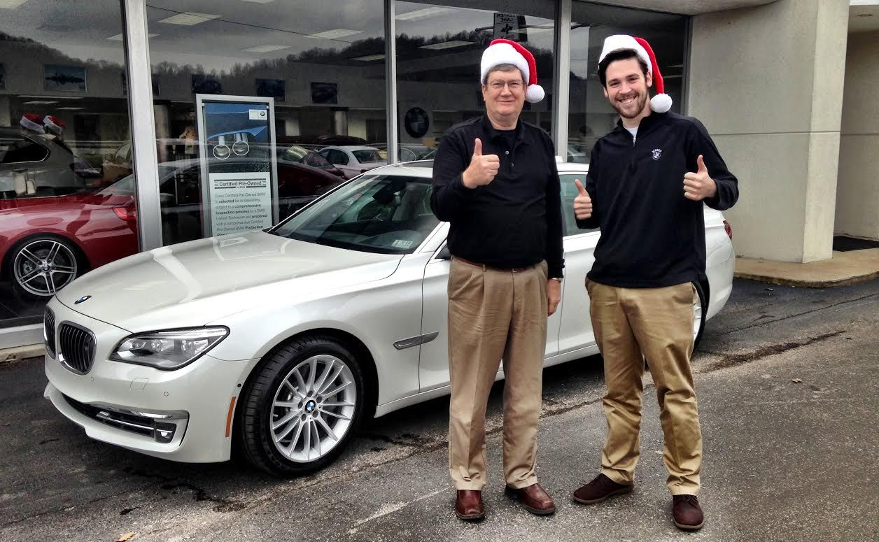 Congratulations Dayton Molendorp On Your Brand New 750lxi From Moses Bmw Thanks To Zack Blevins And Andrew Hager For Hel Customer Photos Fashion Holly Jolly
