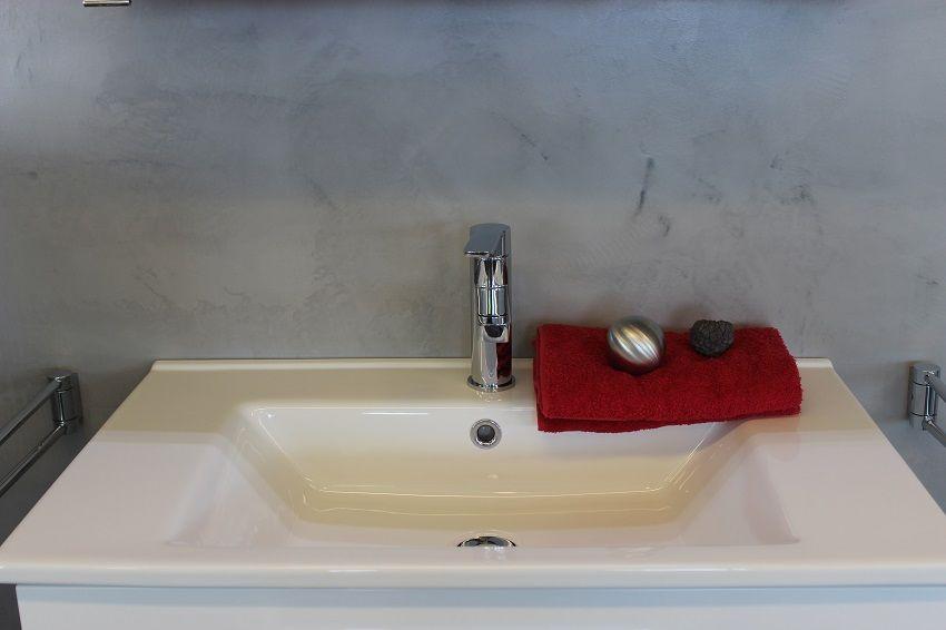 Bad ohne Fliesen mit mineralischen Spachtelputz    wwwborsch - badezimmerwände ohne fliesen