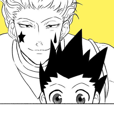 Gon Freecs and hisoka Hunter x Hunter