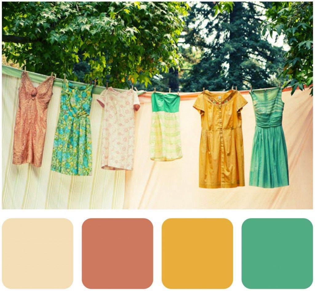 Color inspiration: Rusty rose, mustard, and teal | m a r r i a g e ...